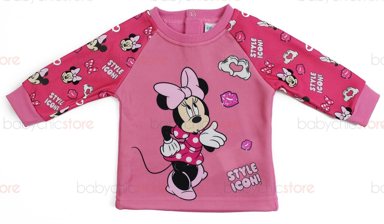 Tuta Neonato Disney Minnie - Rosa