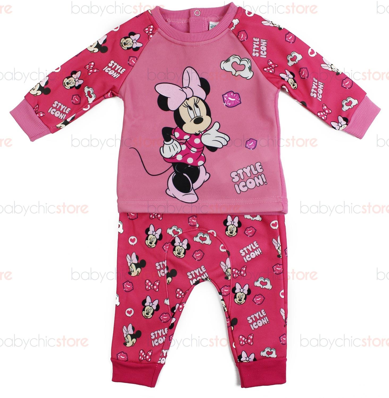 Tuta Neonato Disney Minnie Rosa - 6 Mesi