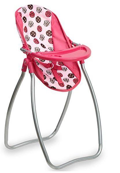 Jouet Chaise Haute en métal 2 en 1