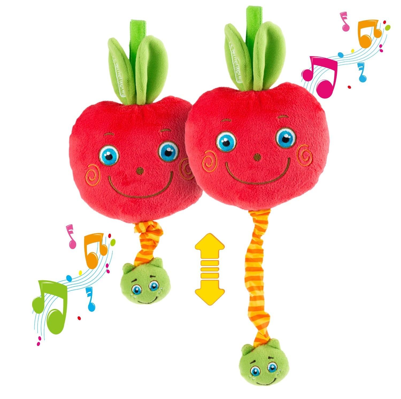 Clementoni Boîte à Musique Souple Pomme