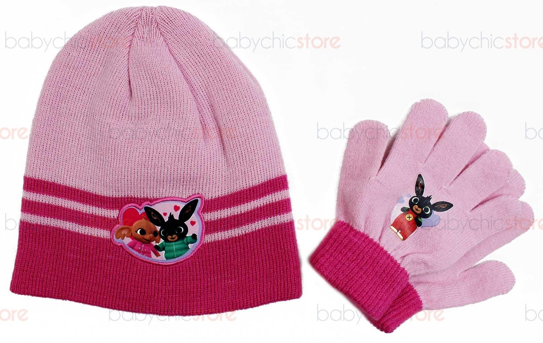 Set Cappello e Guanti di Bing - Rosa