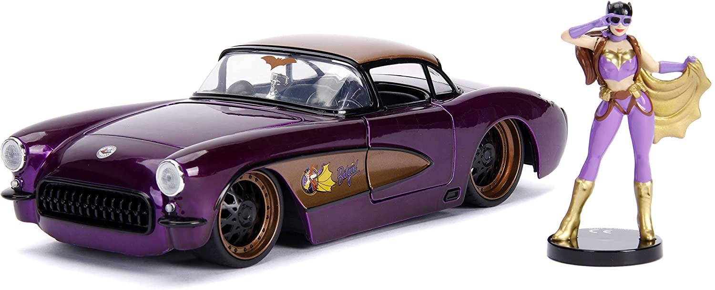 Comics Bombshells Batgirl & 1957 Chevy Corvette