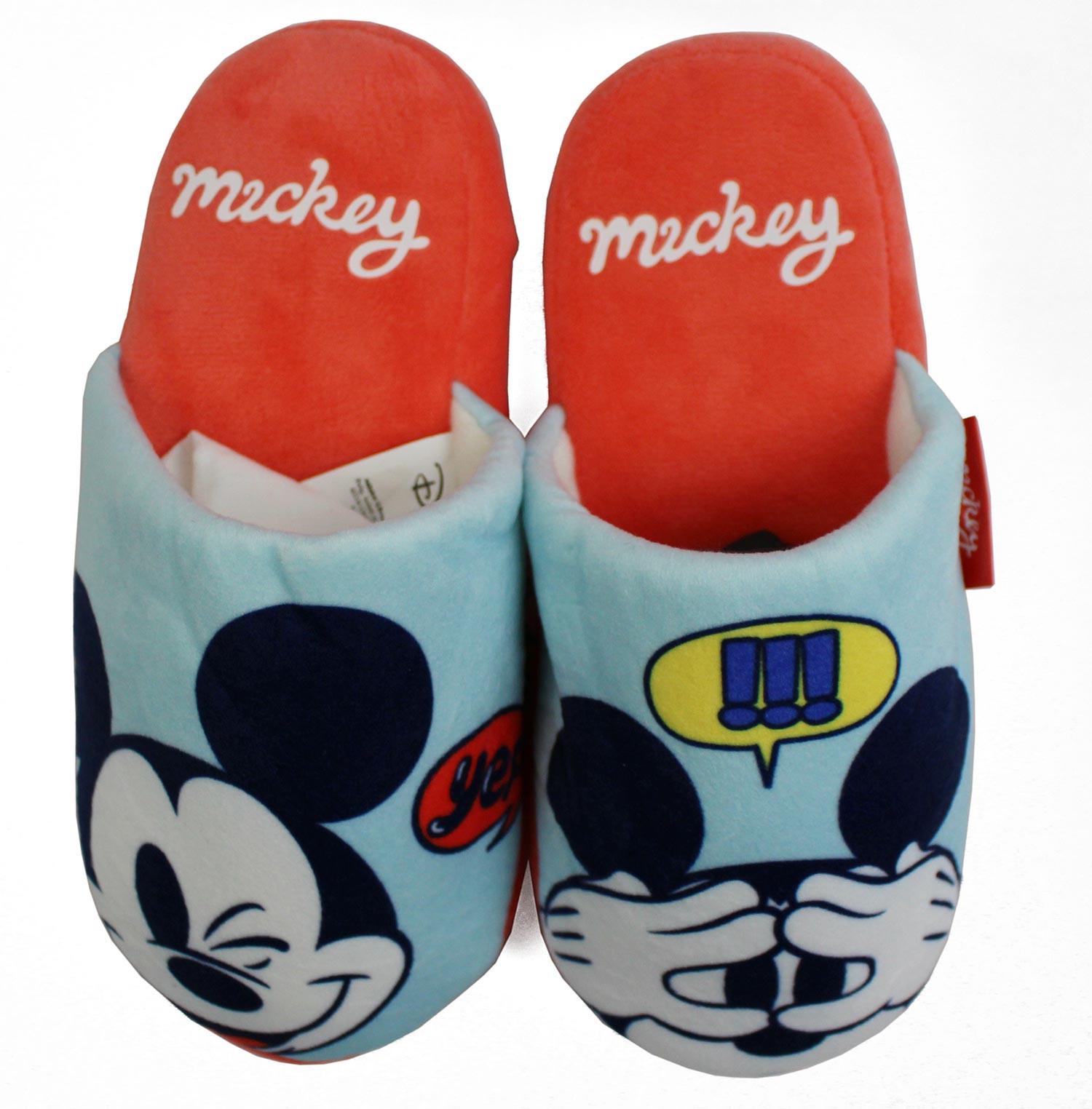 Pantofole Mickey Mouse Misura 26/27