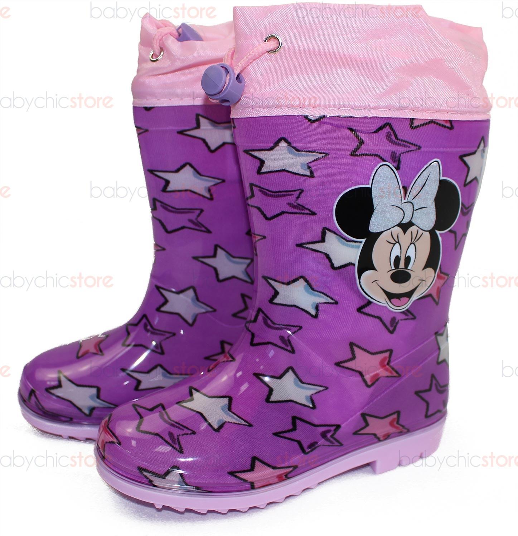 Scarpe da Pioggia Minnie 28