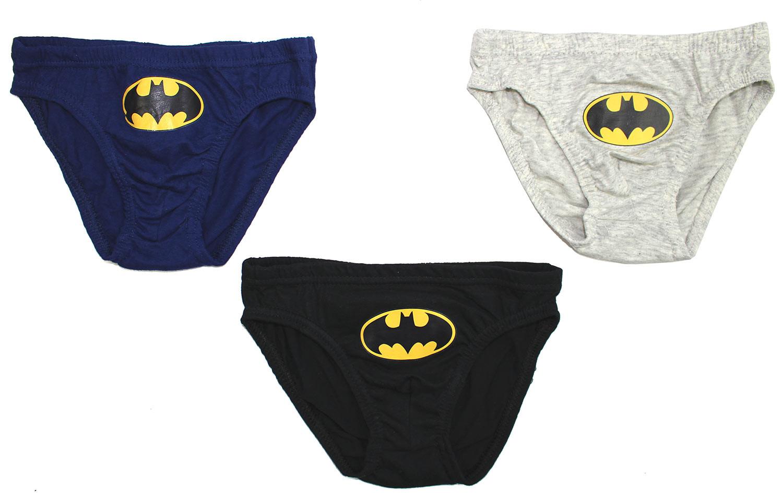 Set di 3 Slip Batman - 6/8 Anni