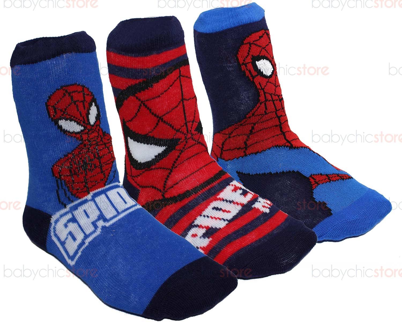 Set 3 Paia di Calzini Spiderman