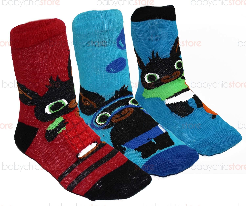 Set 3 paires de chaussettes Bing 23-26
