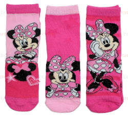 Set 3 Paia di Calzini Minnie 31/34