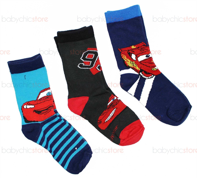 3 Paar Cars-Socken 27-30