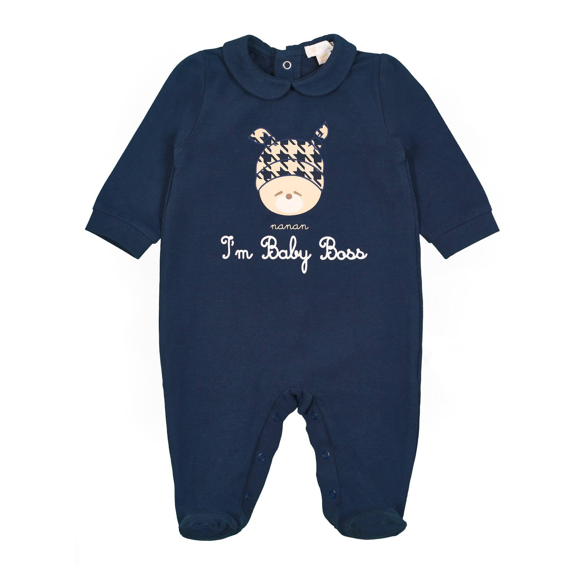 Tutina con scritta I'am Baby Boss 1Mese