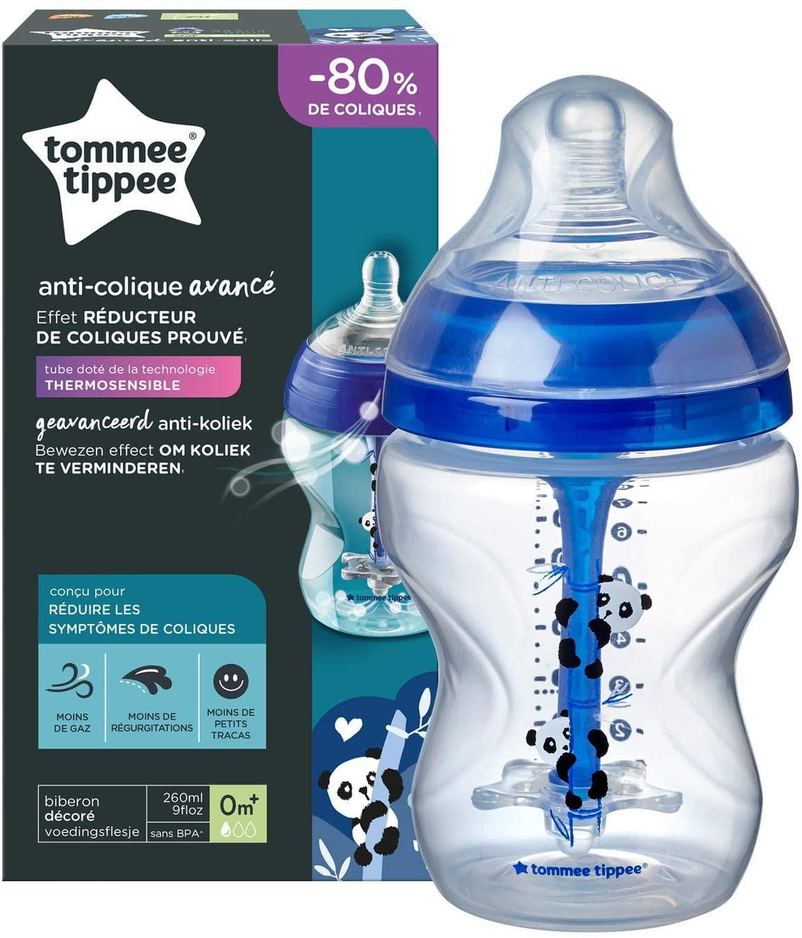 Biberon Anti-Colica Avanzato 260 ml - Blu