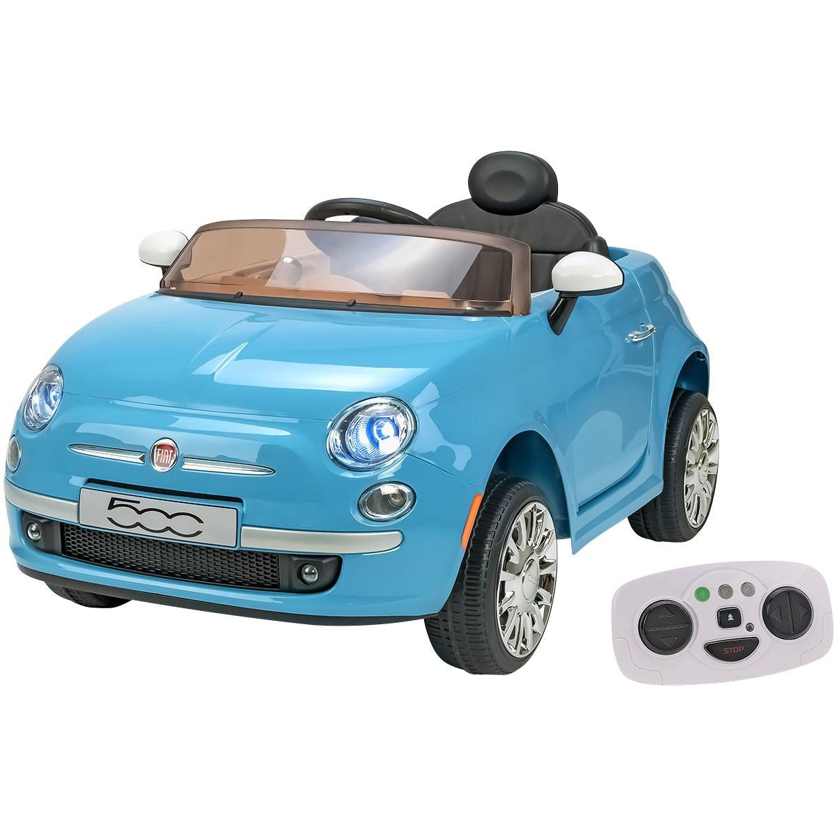 Auto Elettrica Fiat 500 Azzurra
