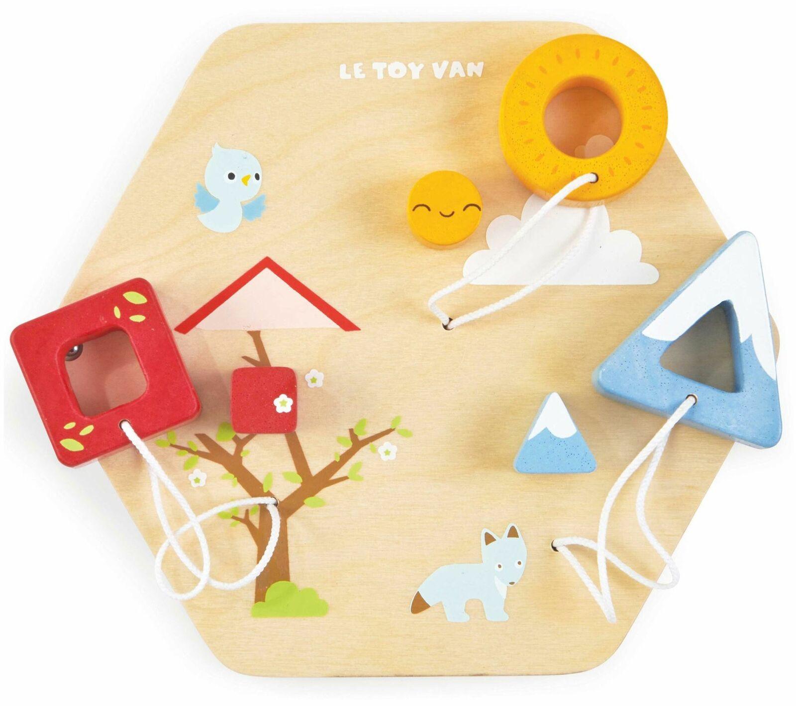 Le Toy Van Petilou Attività Forme Tile