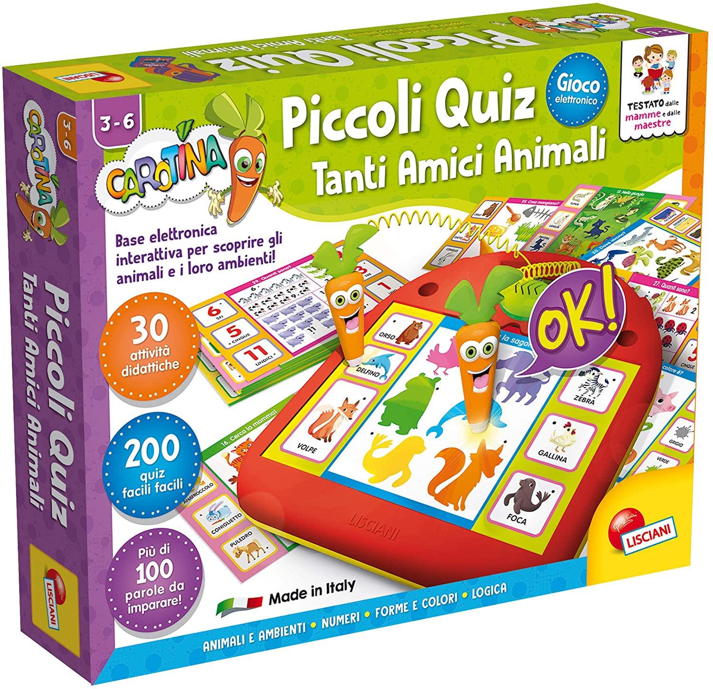 Giochi Carotina Piccoli Quiz Lisciani