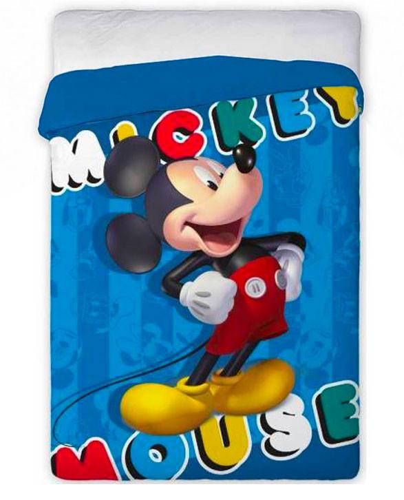 Trapunta Mickey Mouse per Letto