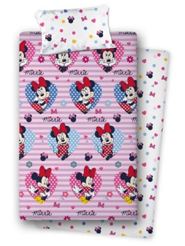 Juego de cama de franela de Minnie Mouse