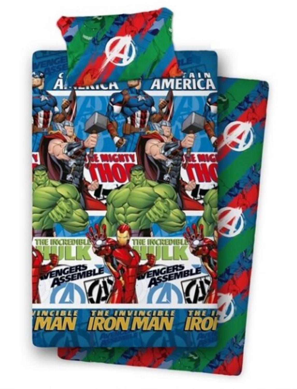 Set Lenzuola per Letto Singolo di Avengers