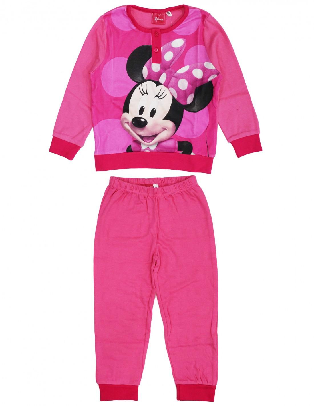 Pigiama Disney Minnie - Rosa 6 Anni