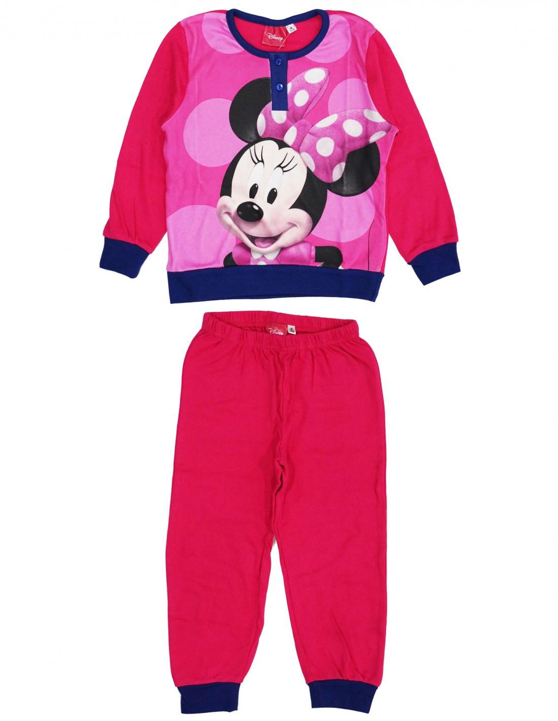 Pigiama Disney Minnie - Magenta 3 Anni