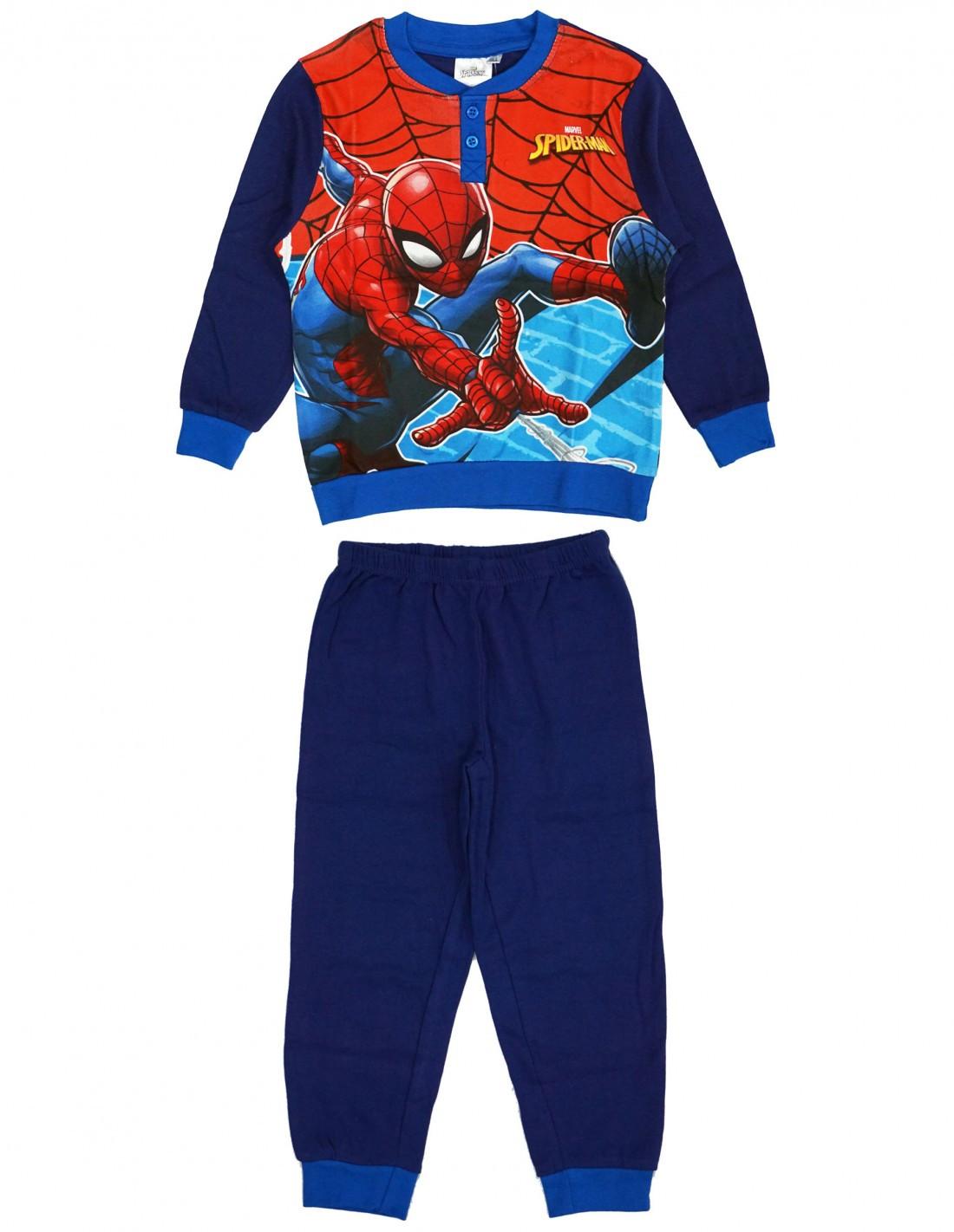 Pigiama Disney Spiderman - Blu