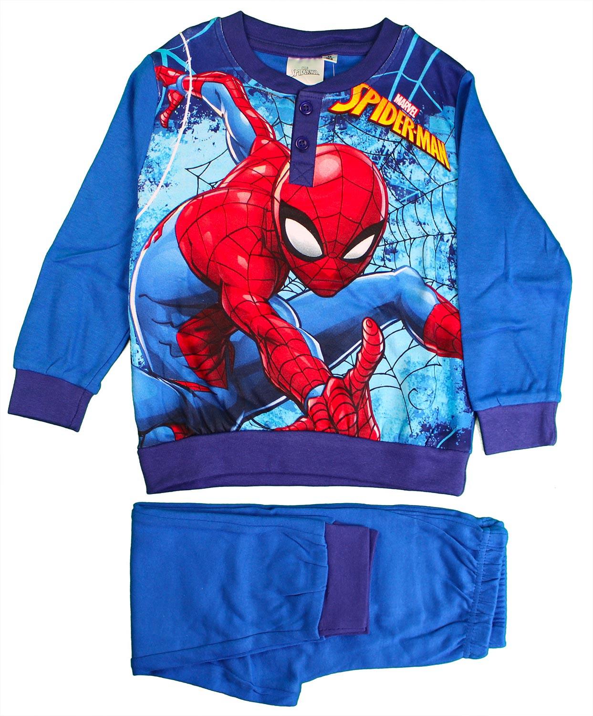 Pigiama Disney Spiderman - Azzurro 6 Anni