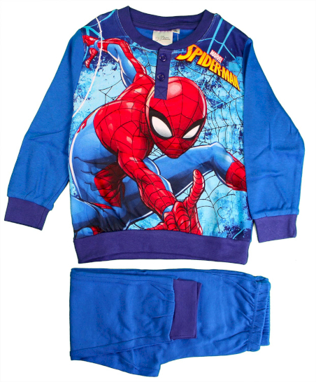 Pigiama Disney Spiderman - Azzurro 8 Anni