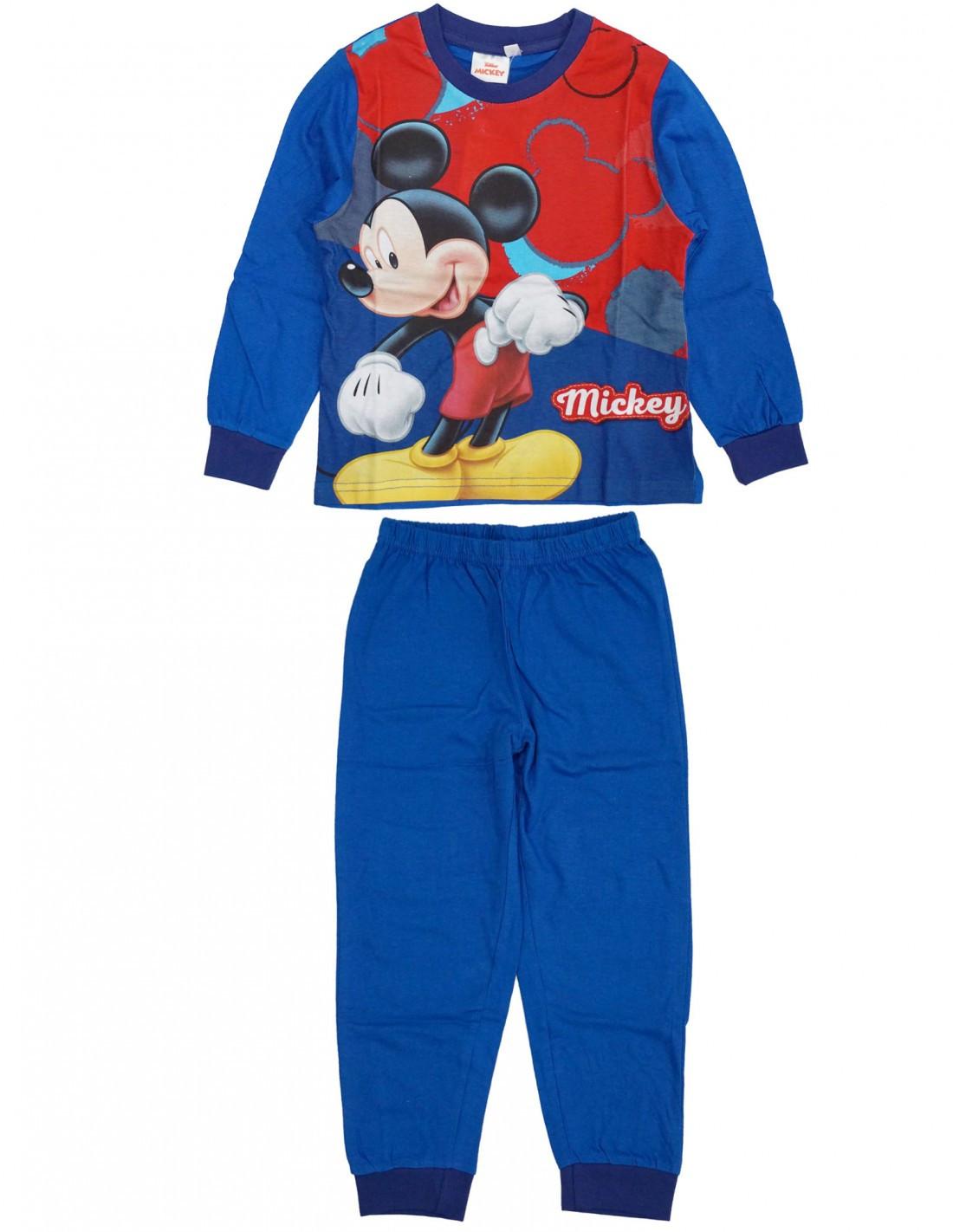 Pigiama Disney Mickey Mouse - Blu 6 Anni