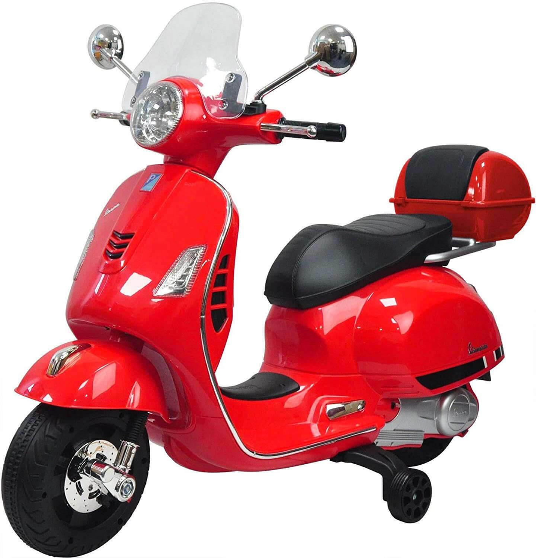 Moto Elettrica Vespa Primavera Piaggio - Rosso