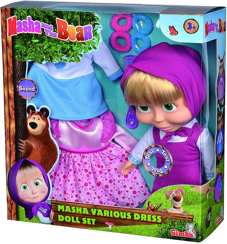 Bambola Masha e Orso Con Melodia
