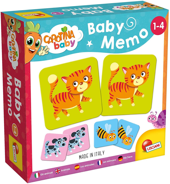 Baby Memo Carotina - Lisciani Memoria Animali
