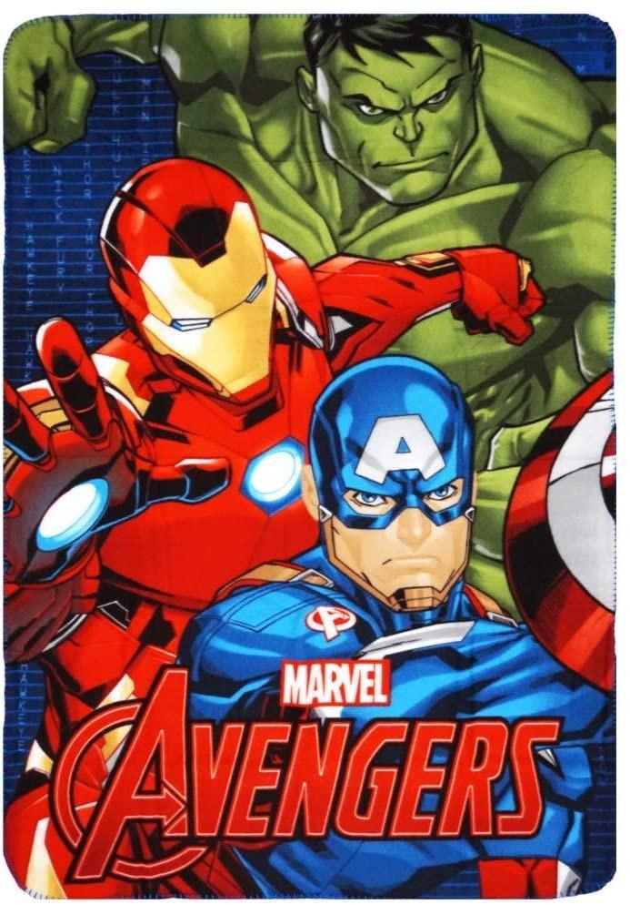 Copertina in Pile di Avengers - Plaid