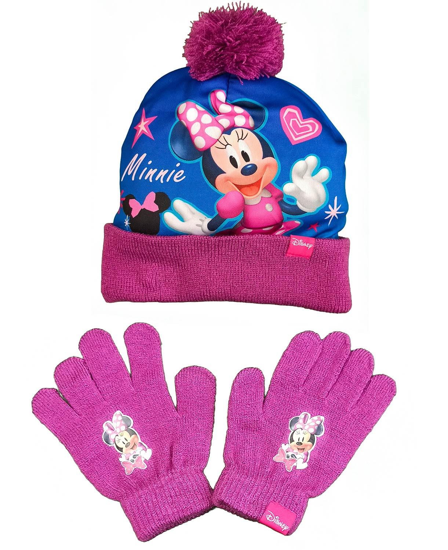 Set Cappello e Guanti di Minnie Viola