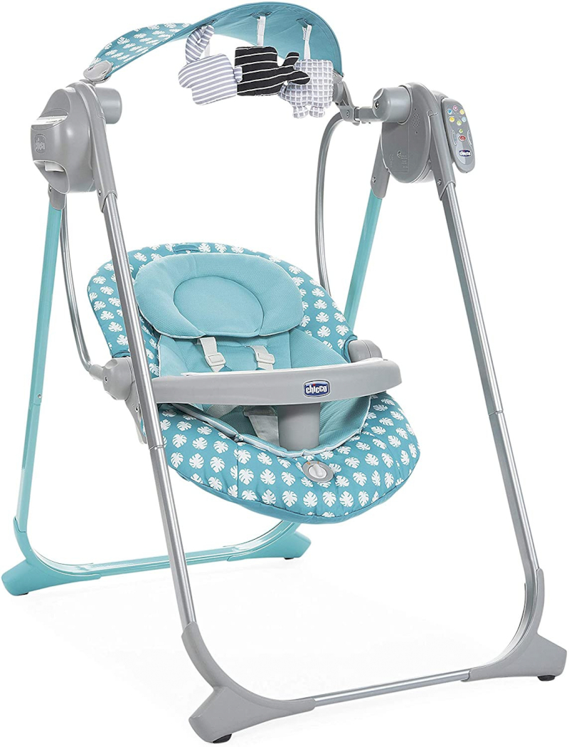 copy of Chicco Babyschaukel Polly Swing Up Silver