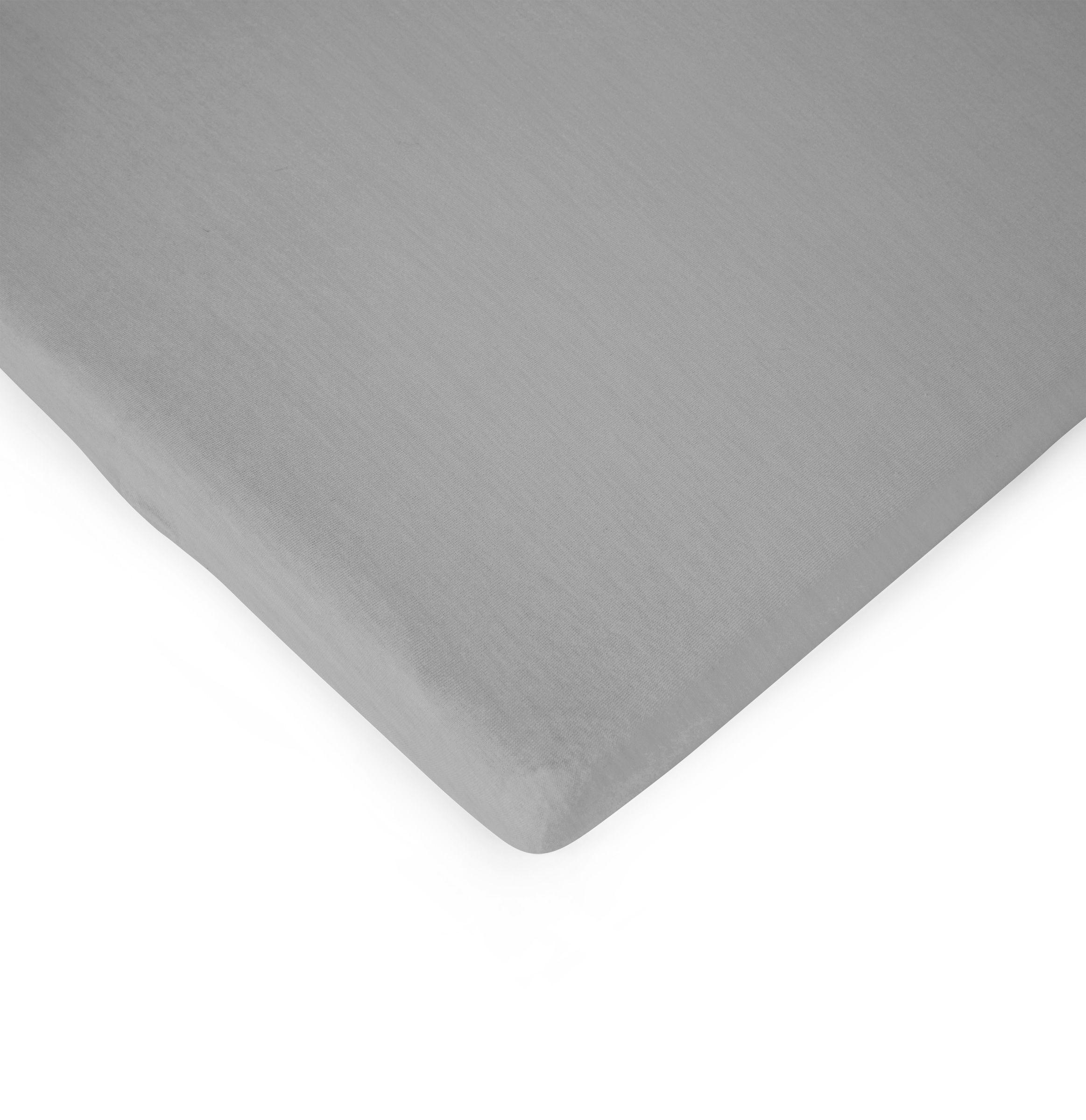 Lenzuolo con Angoli per Materasso 140x70 cm - Grigio