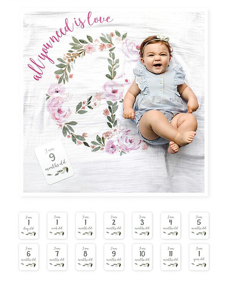 copy of Baby First Year Decke - Here I Grow Again