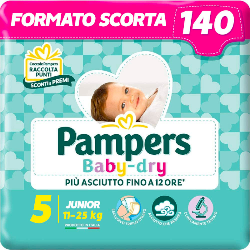 copy of Pampers Progressi Pentapack