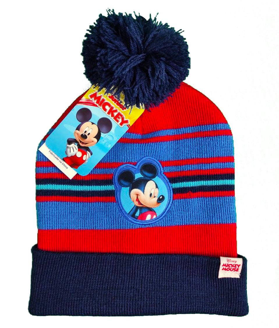 Chapeau Mickey Mouse - Bleu / Rouge
