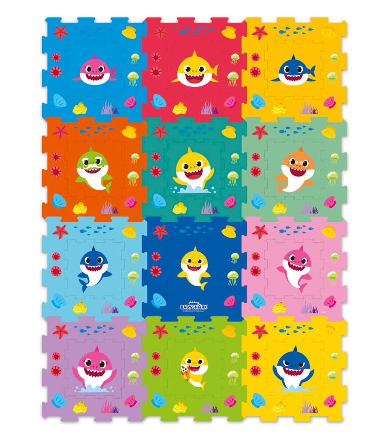 Baby Shark Puzzle-Teppich