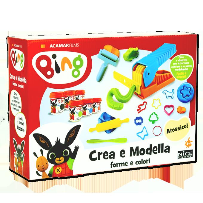 Bing Crea e Modella