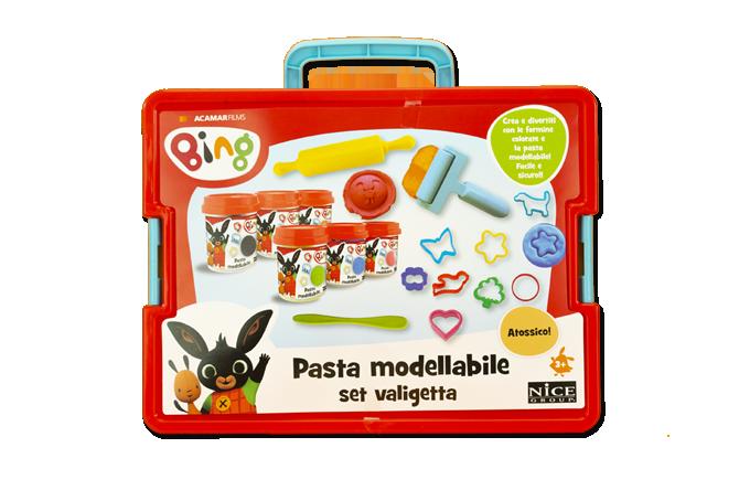 Bing Pasta Modellabile - Set Valigetta