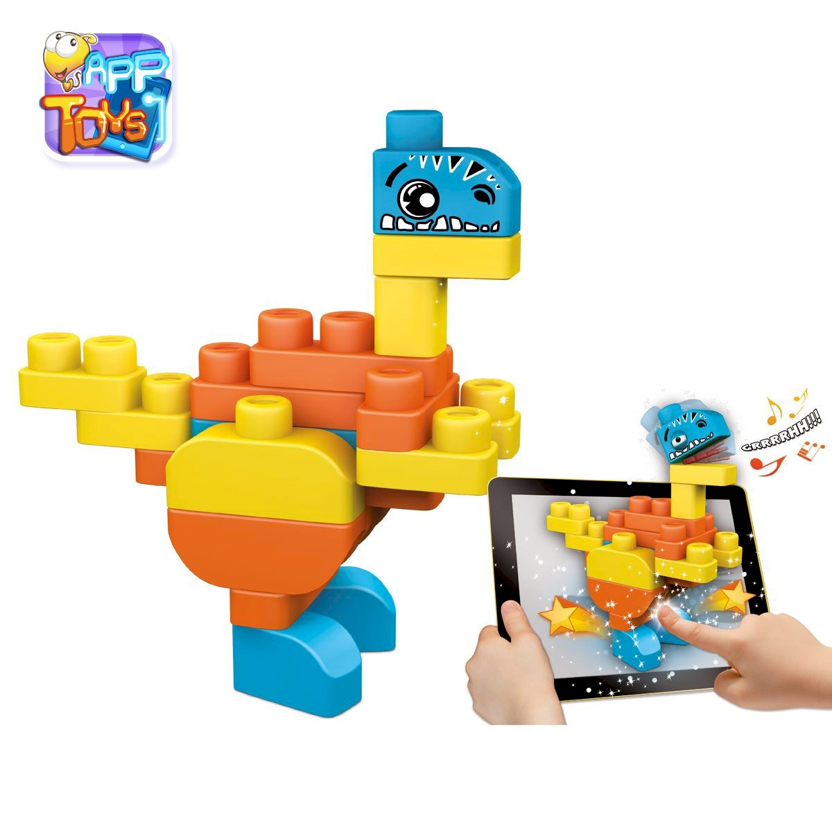 Chicco App Toys Blocks Dinosaures