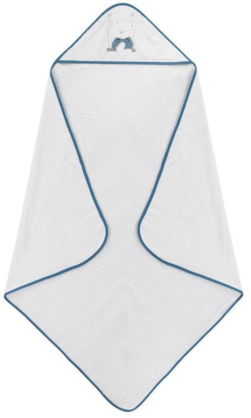 Accappatoio per Neonato Swing - Bianco/Blu