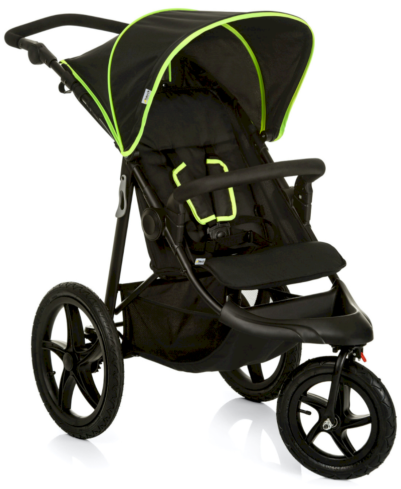 Hauck Runner Black/Neon Yellow