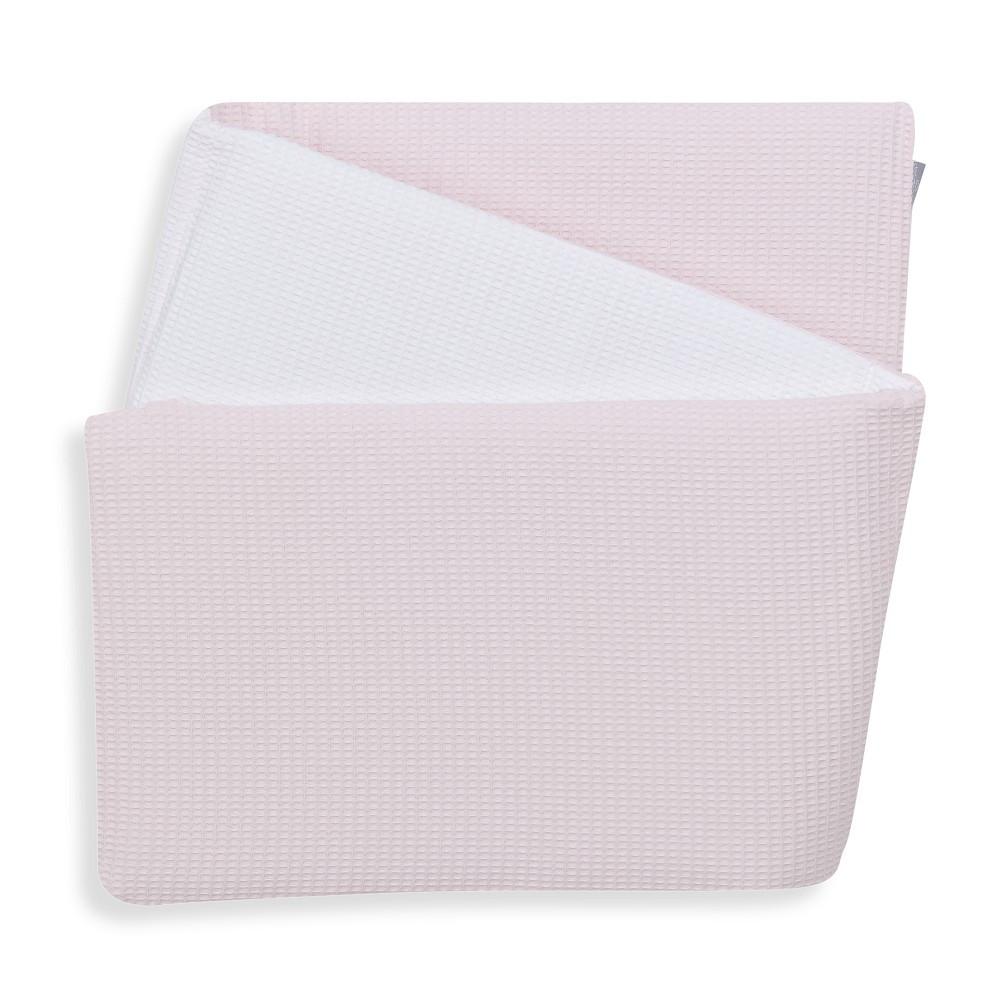 Reversible Cot Bumper Pink