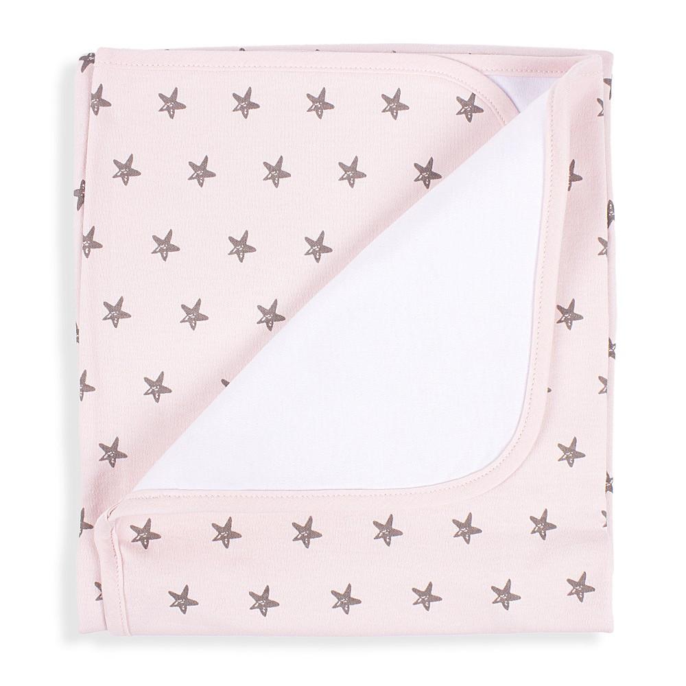 Sterne Babydecke - Pink