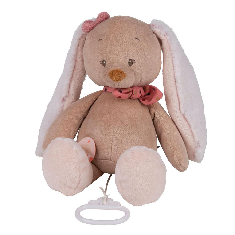 Boîte à musique Nattou Pauline le lapin