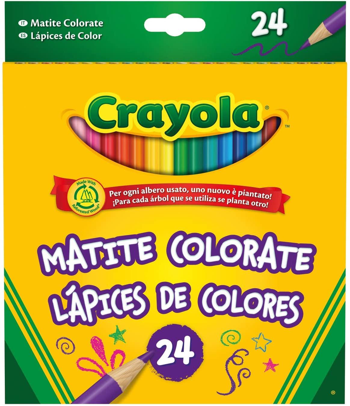 Set 24 Matite Colorate Crayola