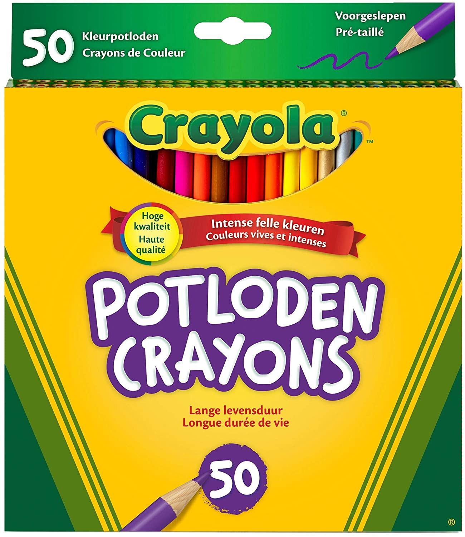 Set 50 Matite Colorate Crayola