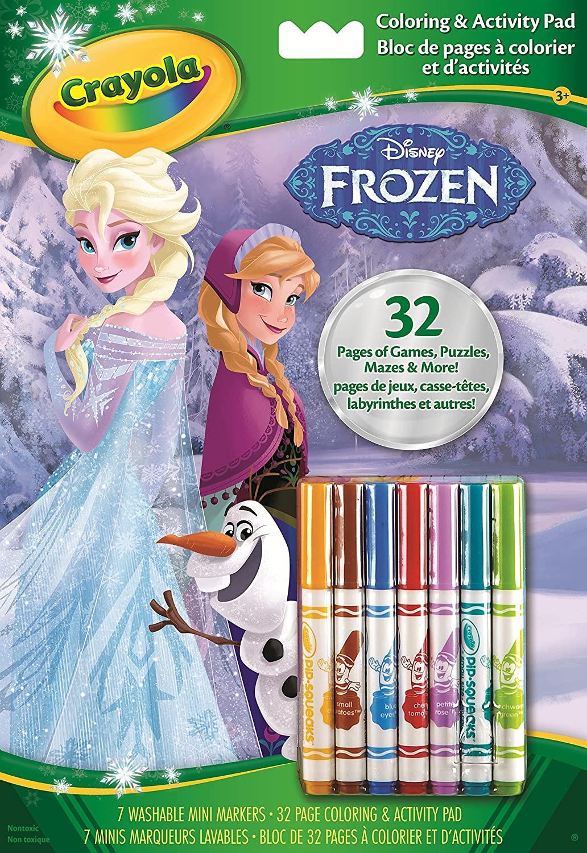 Album Da Colorare Con Attivita Frozen 2