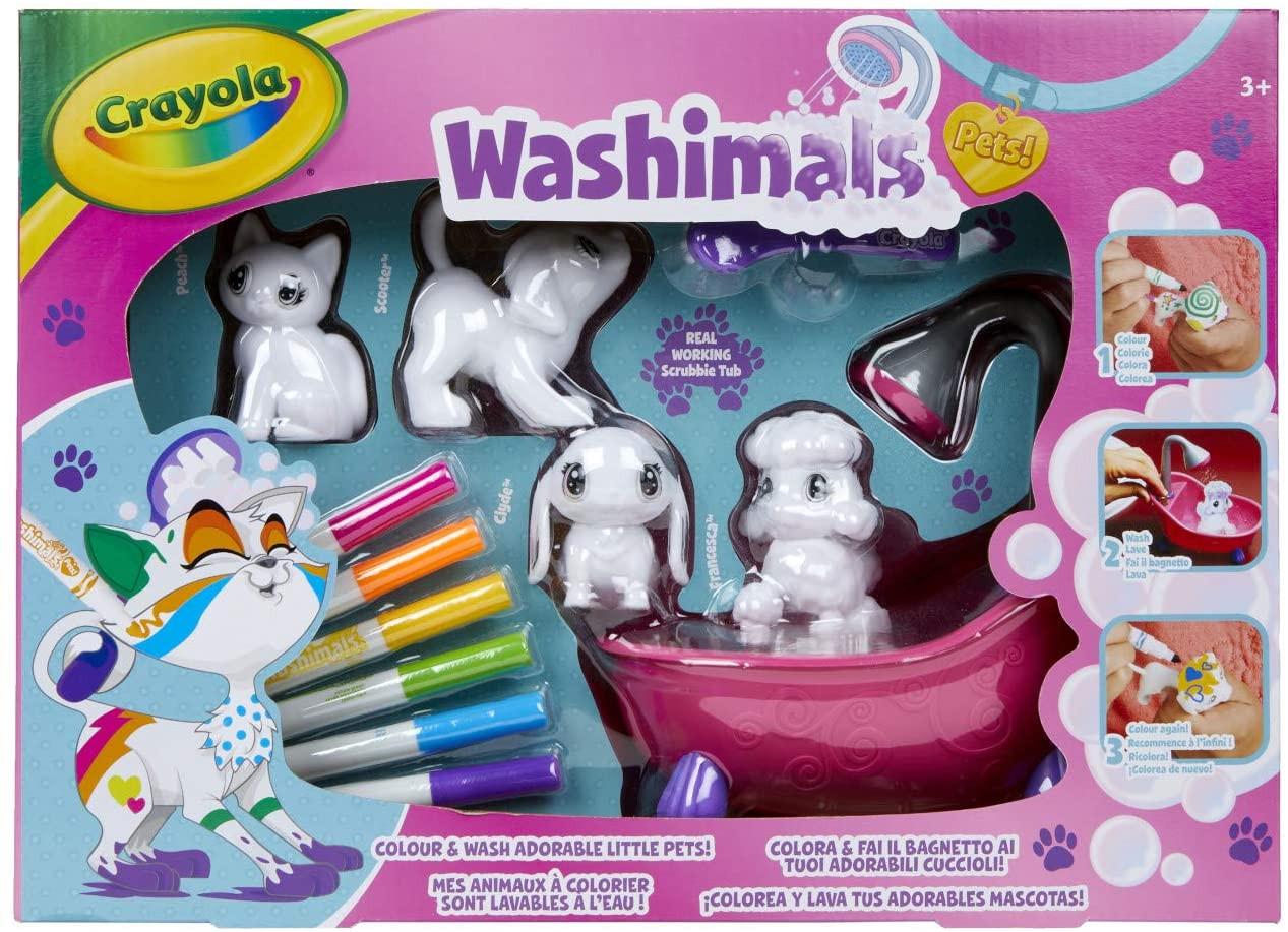Washimals - Set 4 Cuccioli